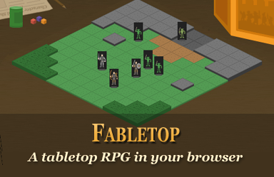 Fabletop - A tabletop RPG in your browser