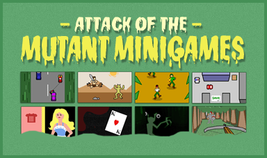 Attack of the Mutant Minigames - A free bundle of small games